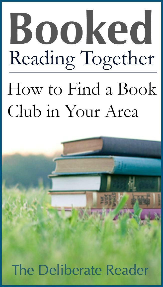 Booked {Reading Together} | How to Find a Book Club in Your Area