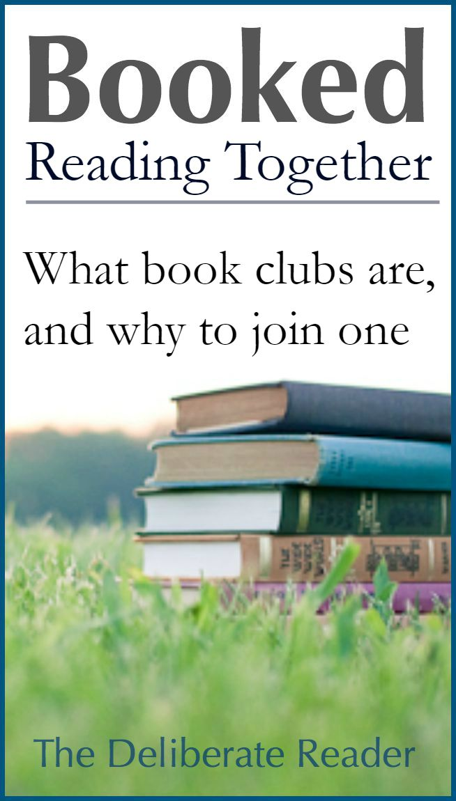 Booked {Reading Together} | What book clubs are