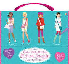 Sticker Dolly Dressing Fashion Designer Activity Pack