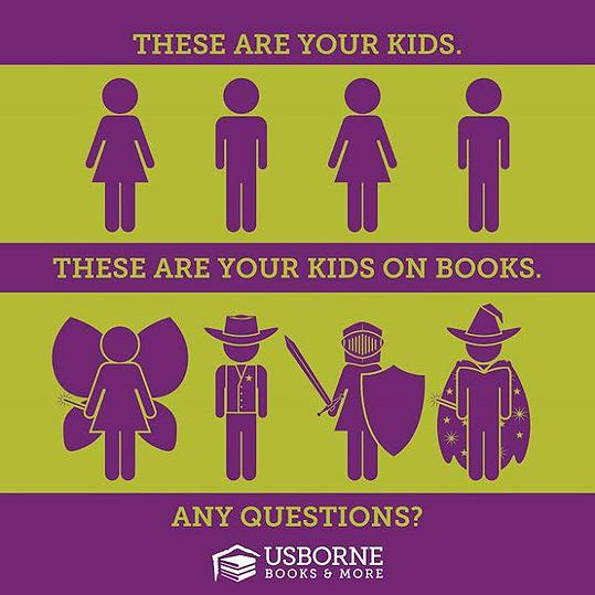 Usborne Books | These are Your Kids / These are Your Kids on Books