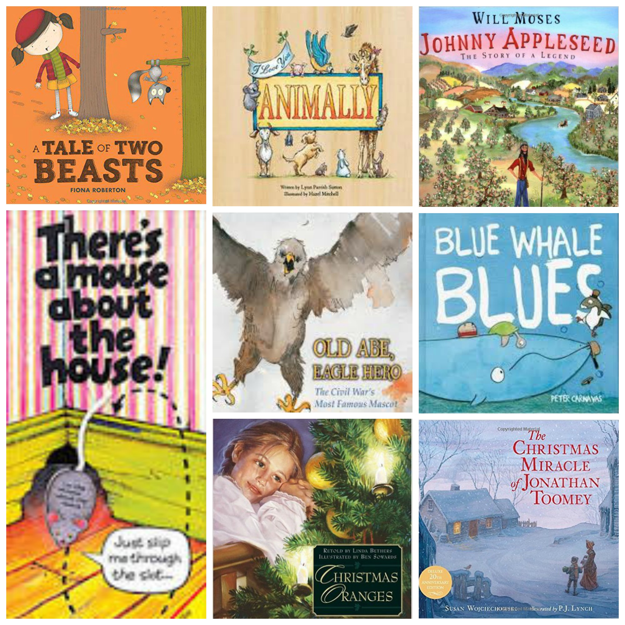 December 2015 Picture Books