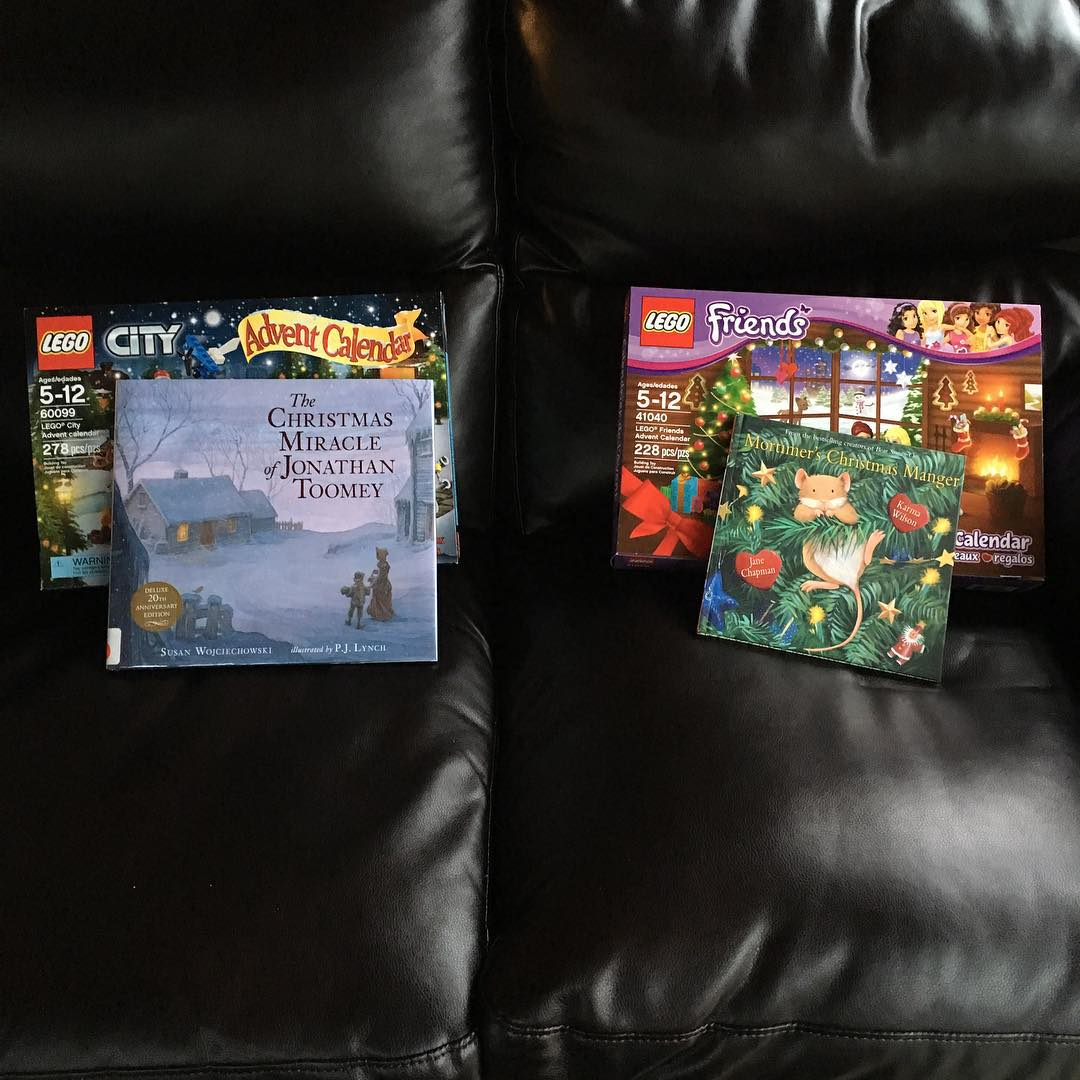 Literary and Lego Advent Day 1