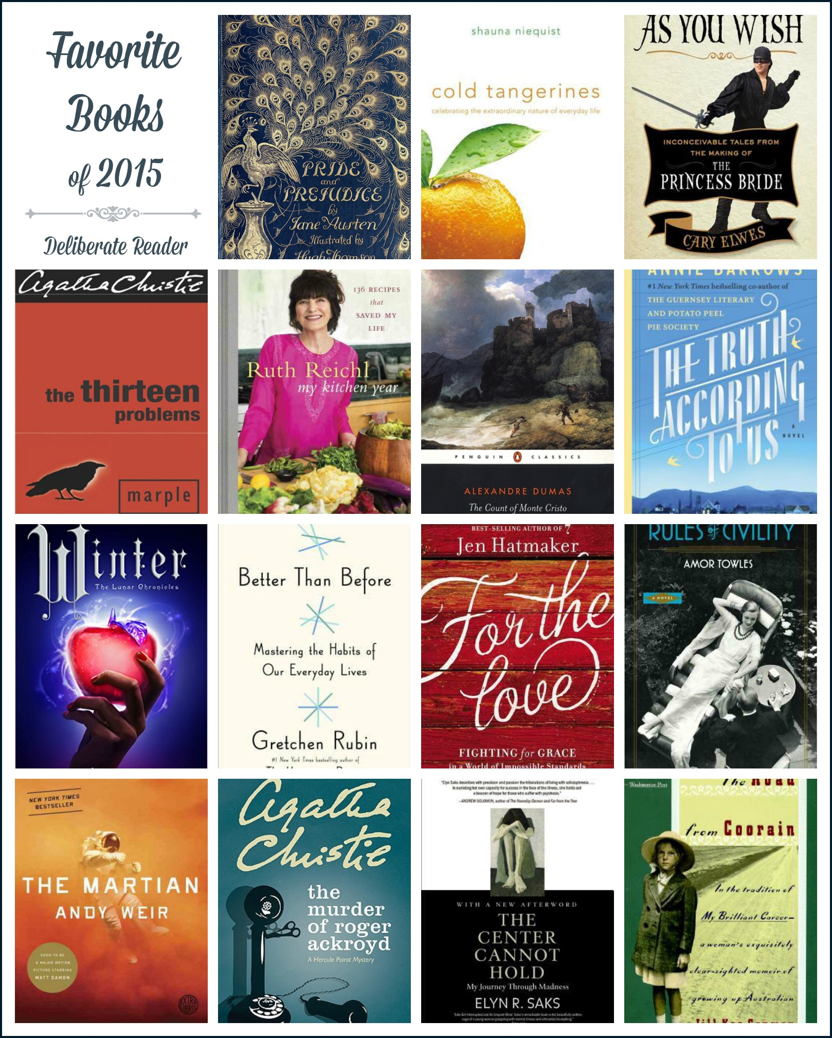 Favorite Books of 2015