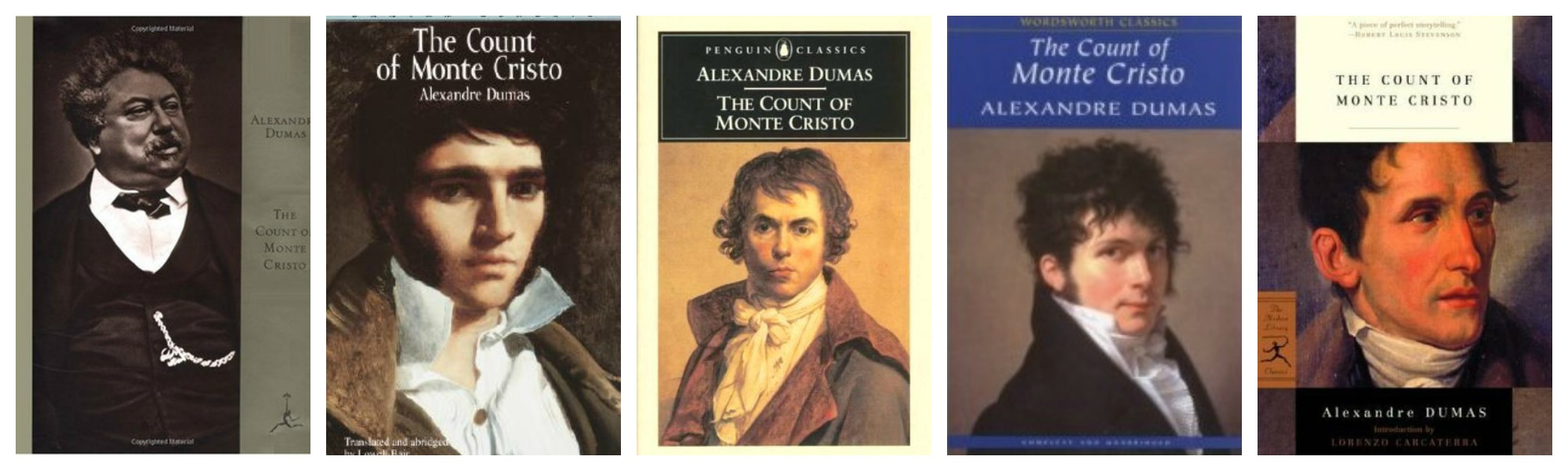 The Count of Monte Cristo Covers 2