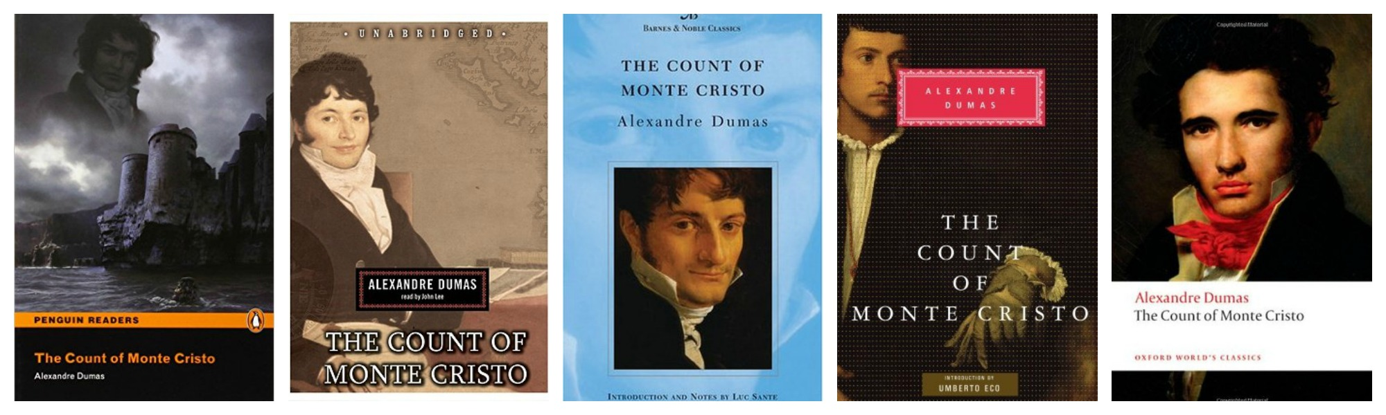 The Count of Monte Cristo Covers 3