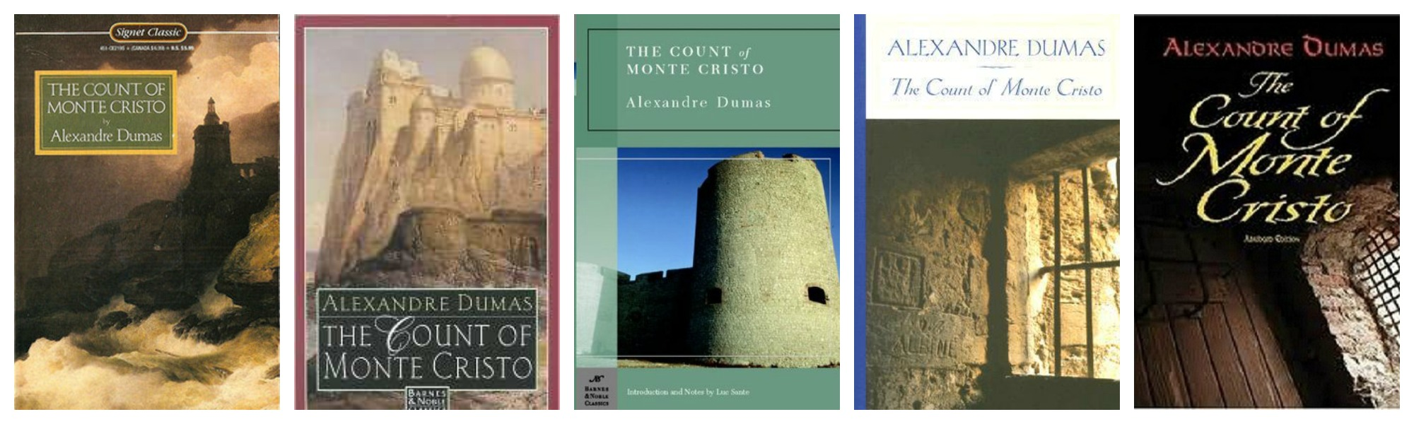 The Count of Monte Cristo Covers 4