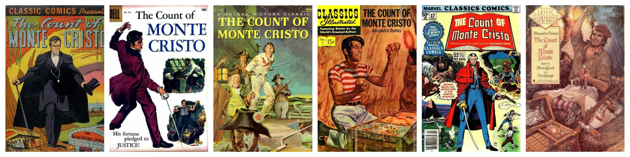 The Count of Monte Cristo Covers 6
