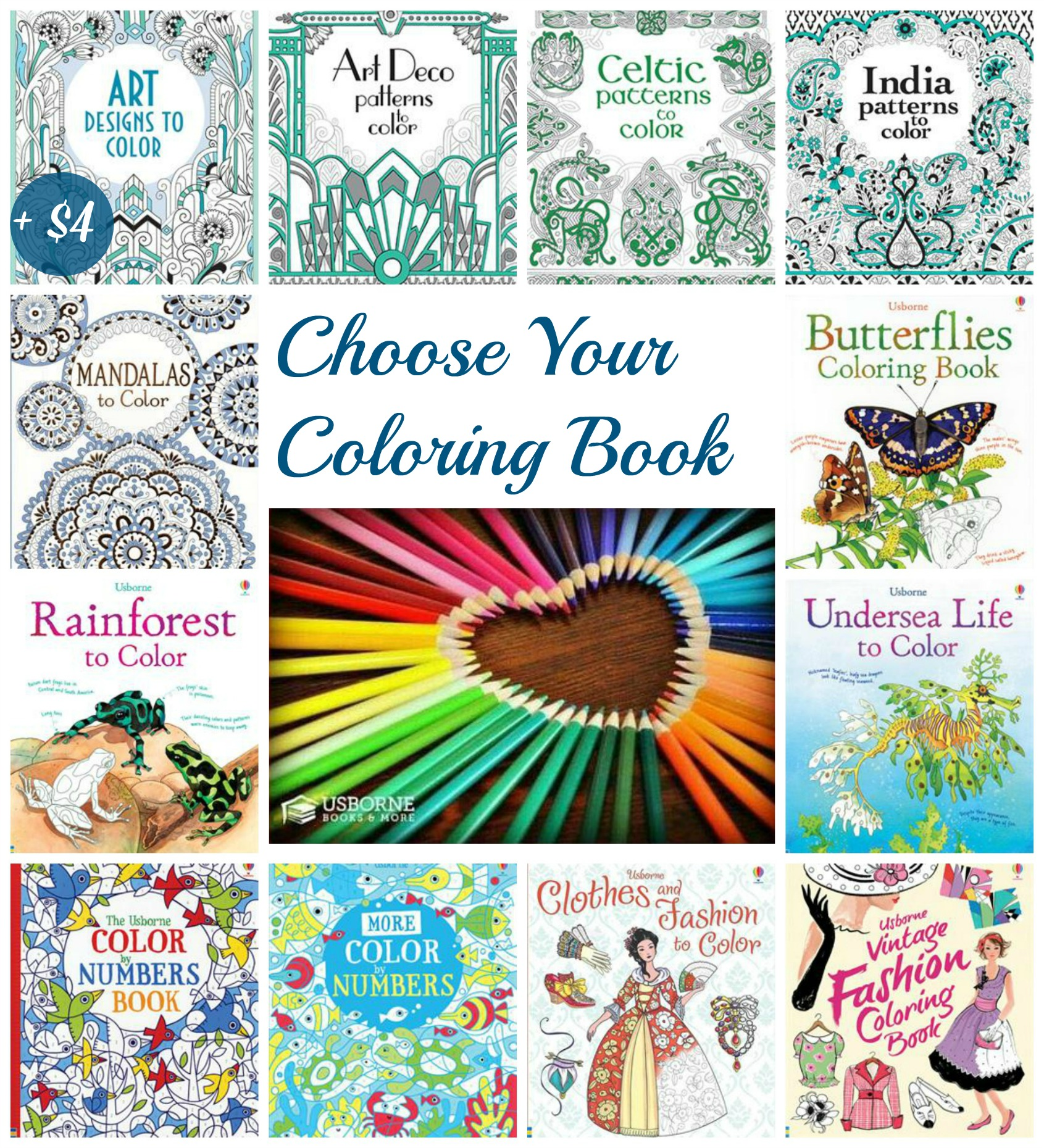 Choose Your Coloring Book