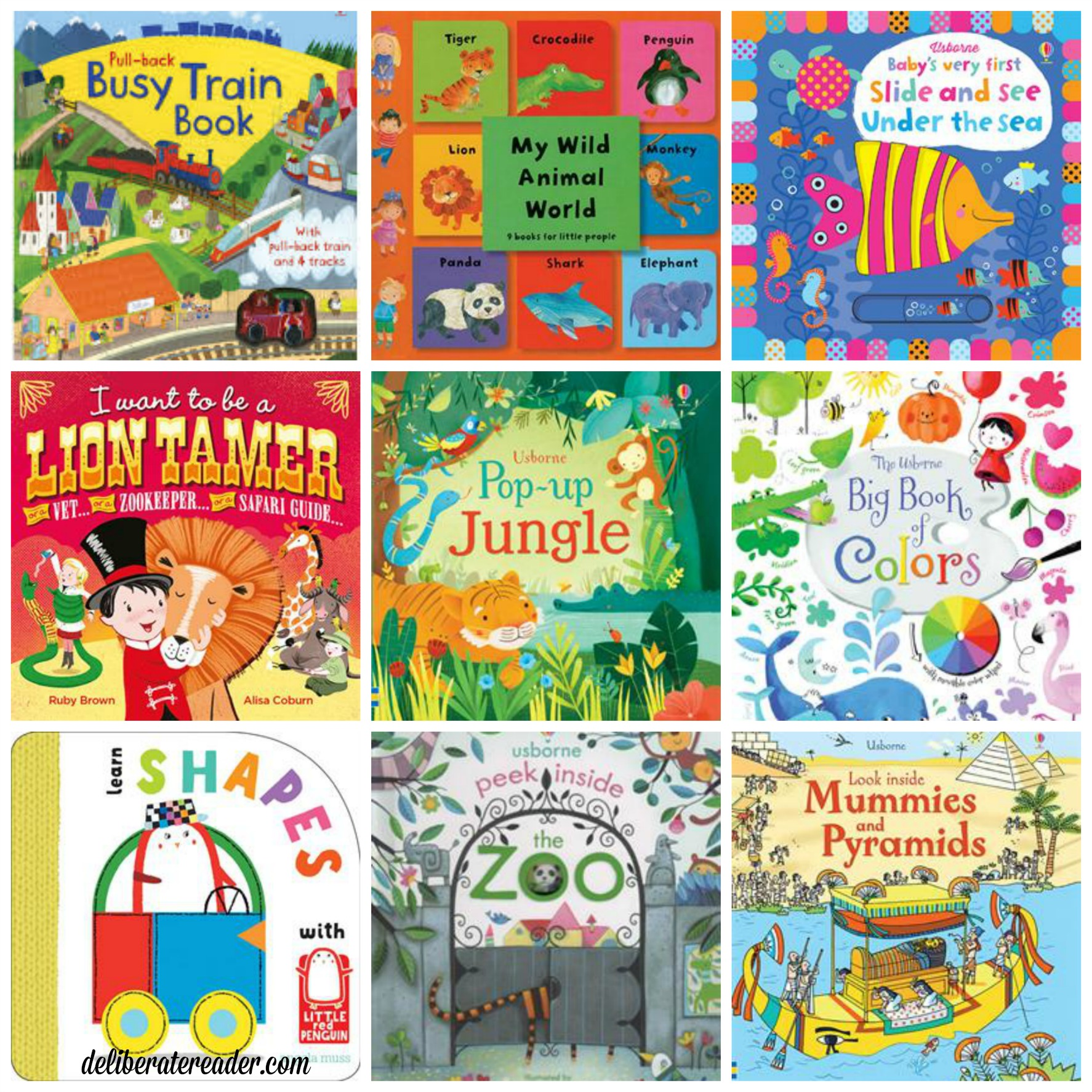 February 2016 Usborne board books