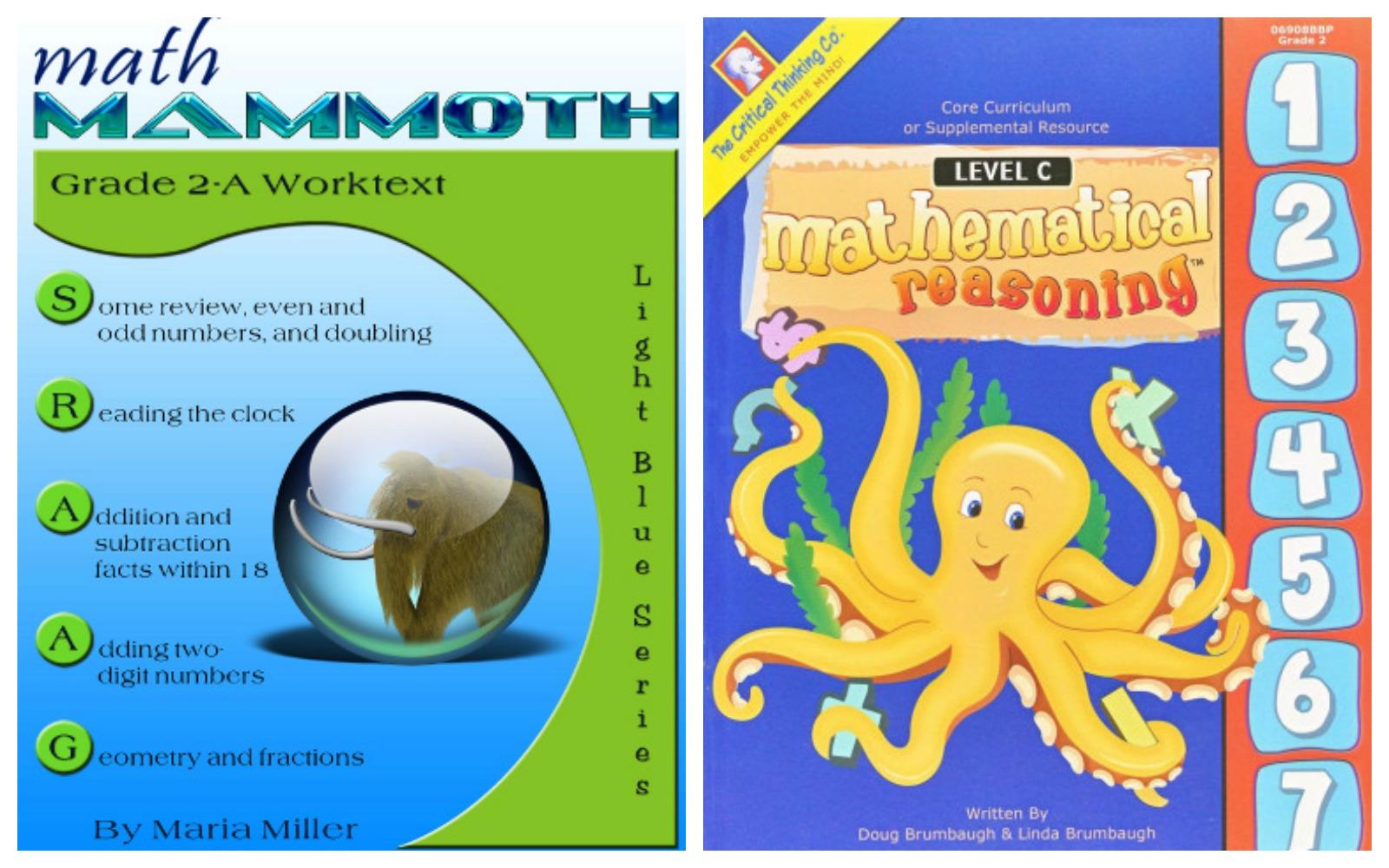 Homeschooling Math Early Second Grade