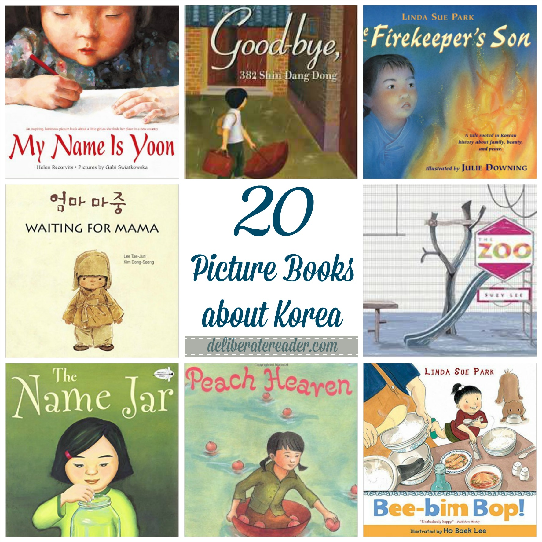 Twenty Picture Books about Korea