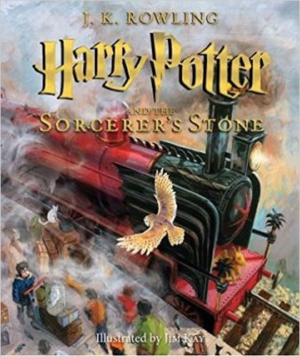 Harry Potter and the Sorcerer's Stone Jim Kay illustrations