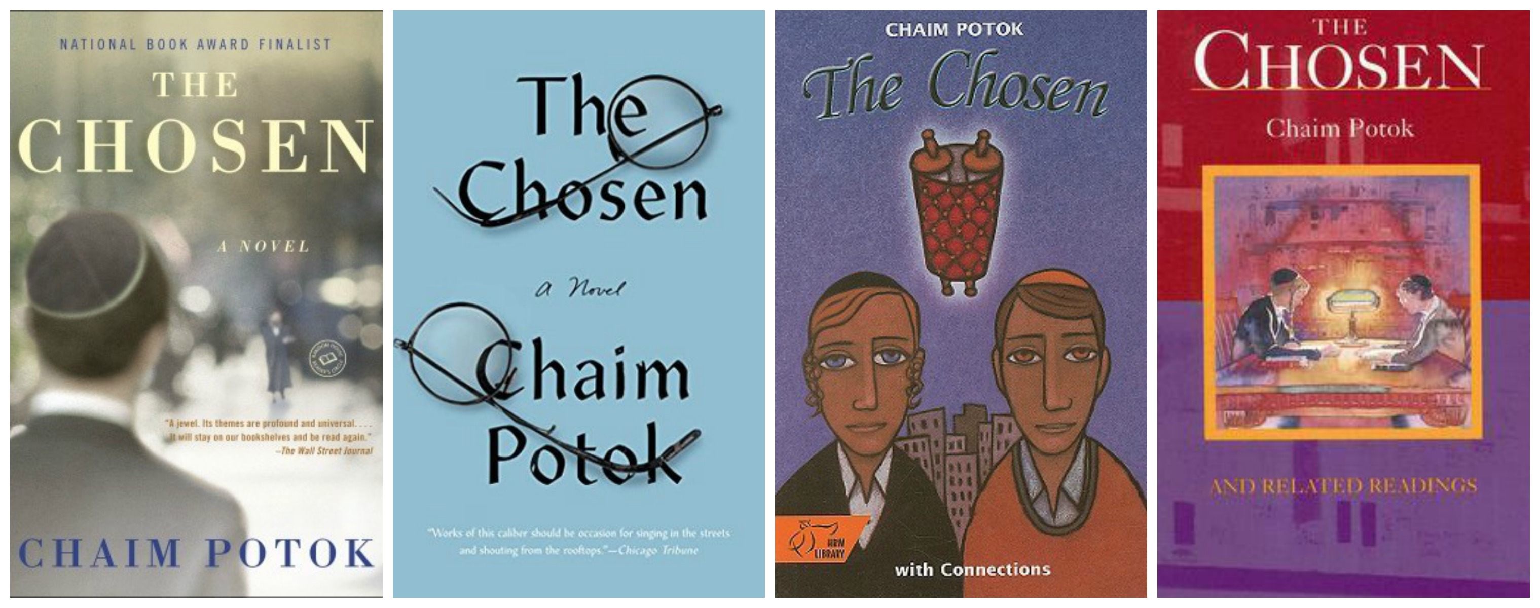 the analysis of individuality in the chosen by chaim potok