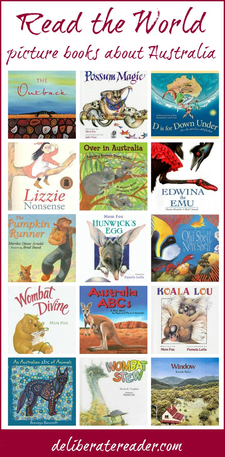 50 Australia picture books