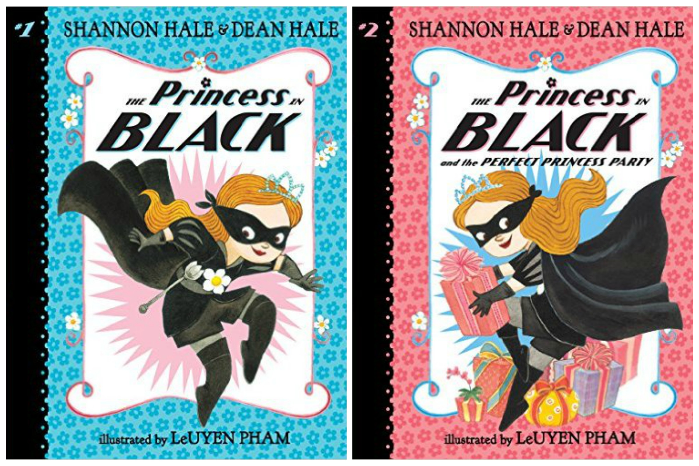 Princess in Black 1 and 2