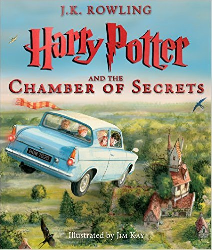 Harry Potter and the Chamber of Secrets illustrated version
