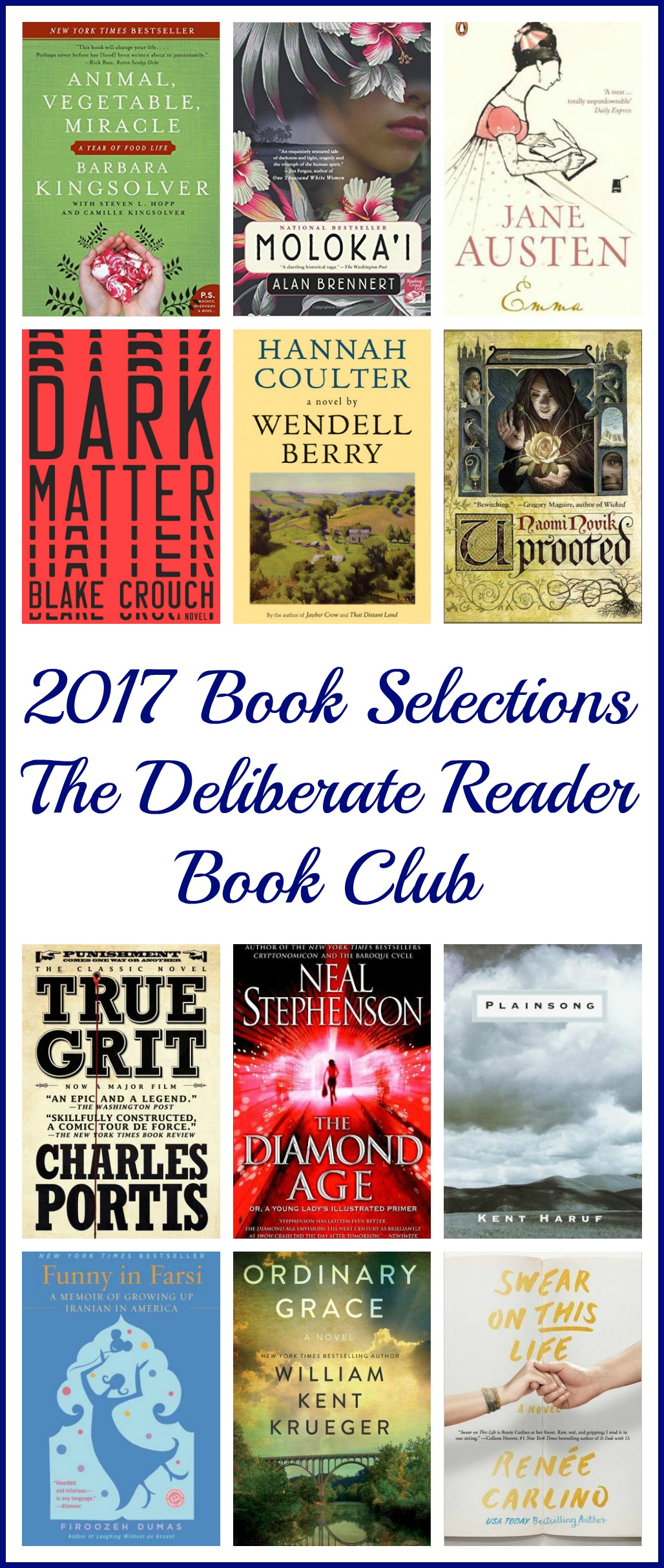 The Deliberate Reader - because great books shouldn't be