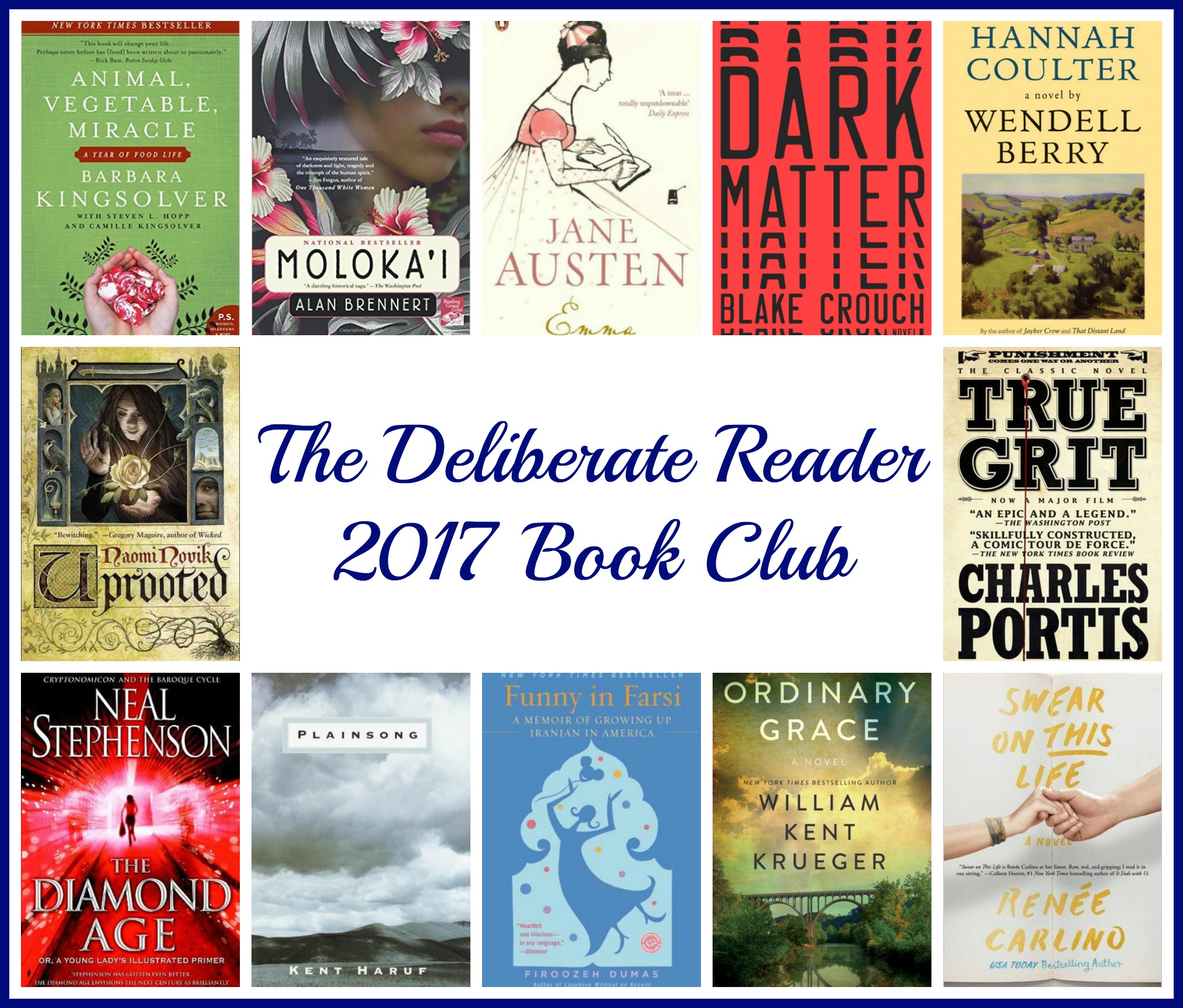 the-deliberate-reader-2017-book-club-selections
