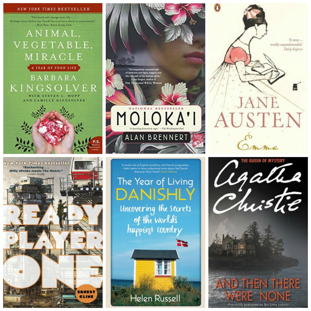 Covers for 2017 quarter 1 book club books