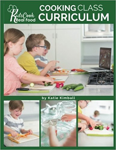 Kids Cook Real Food cover