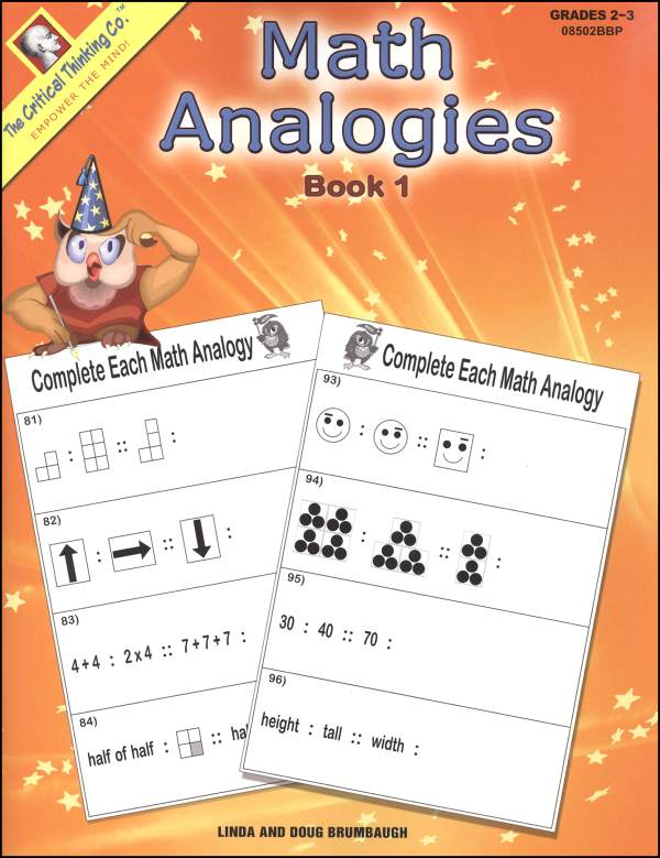 Math Analogies cover