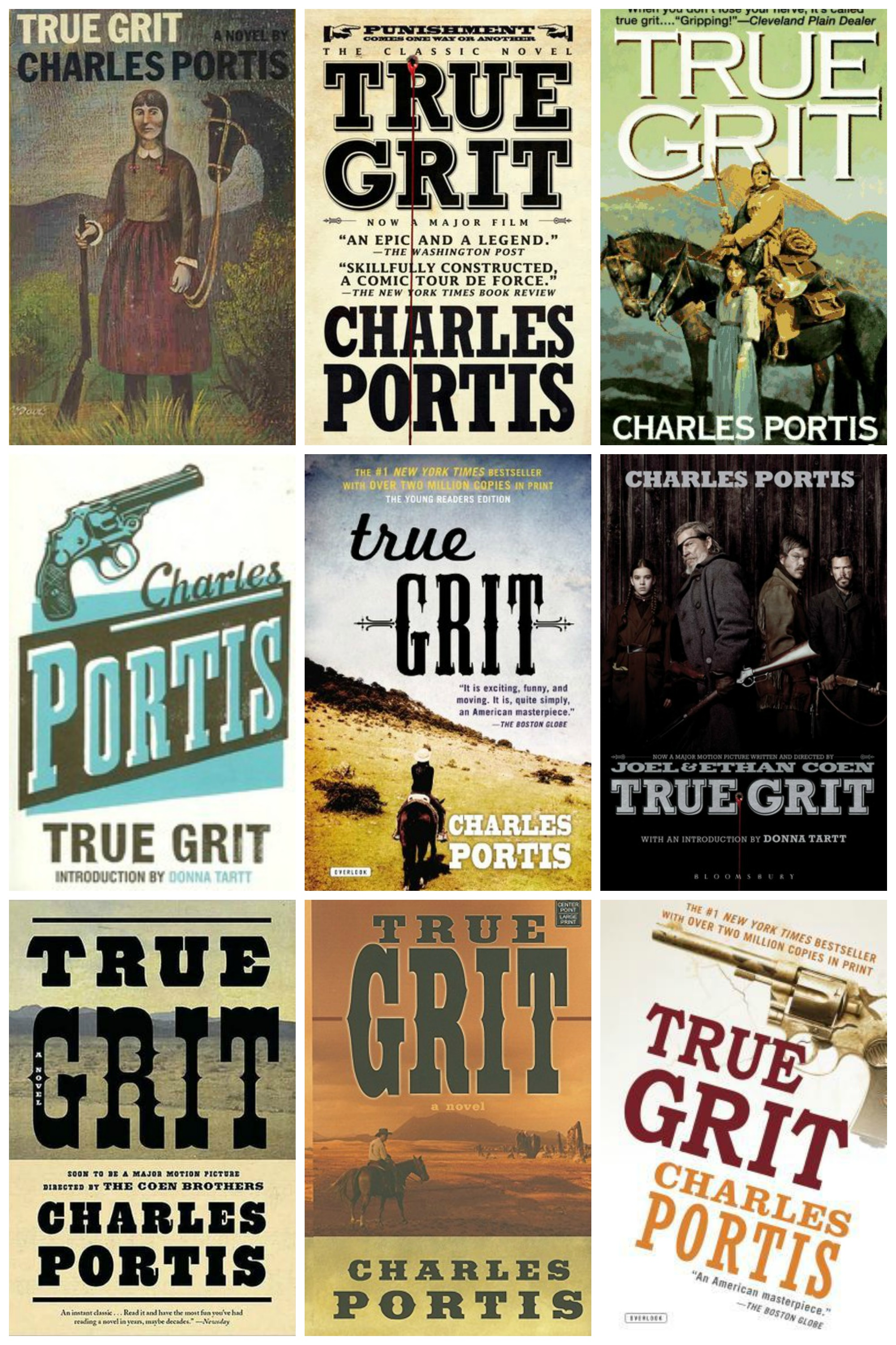 True Grit Covers