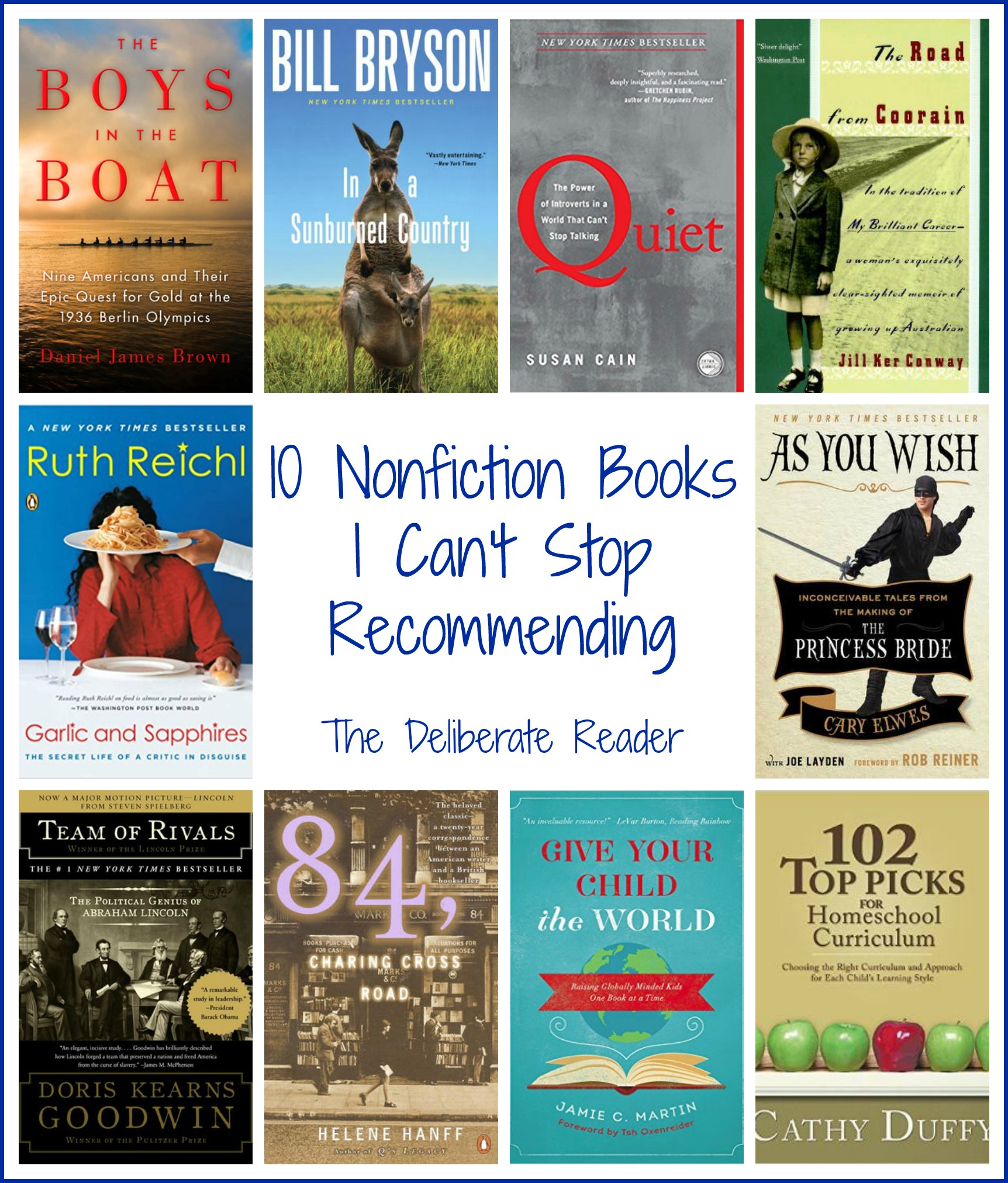 10 Nonfiction Books I Can't Stop Recommending