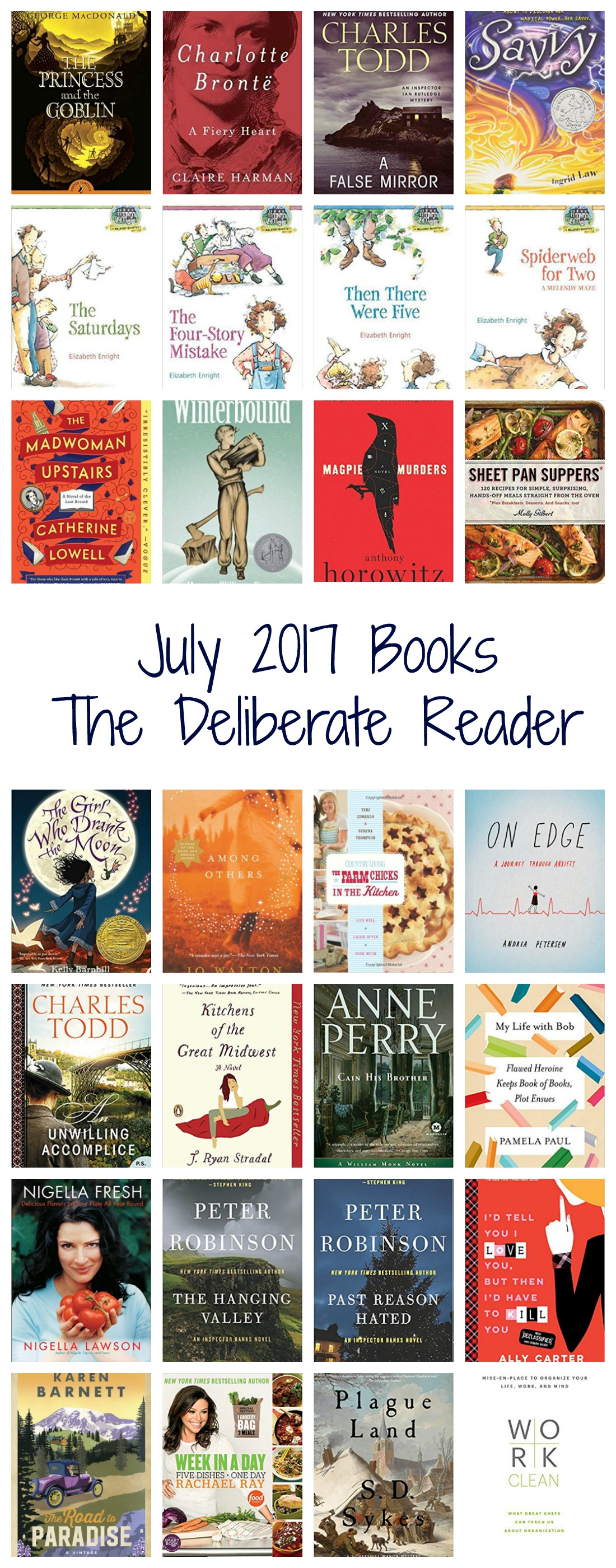 Books Read in July 2017