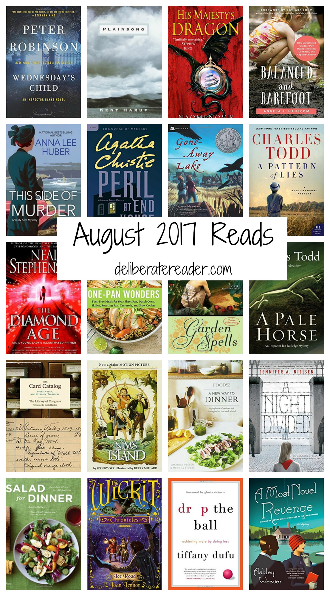 August 2017 Reads