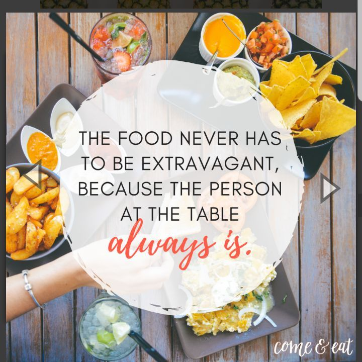 Quote from Come & Eat by Bri McKoy
