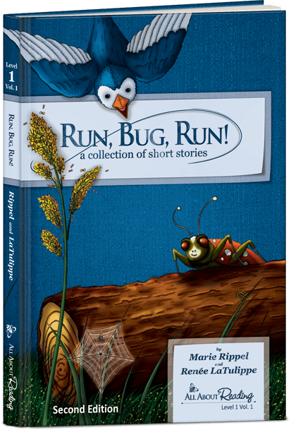 All About Reading 1 Run Bug Run Reader