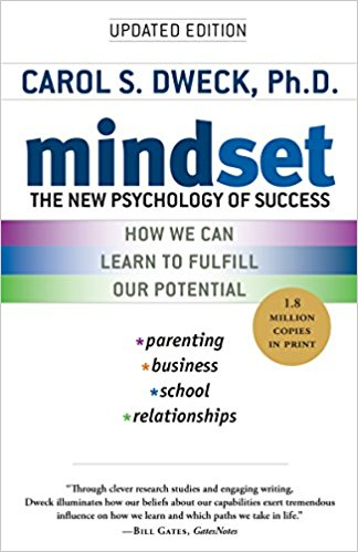 Cover of Mindset: The New Psychology of Success by Carol S. Dweck