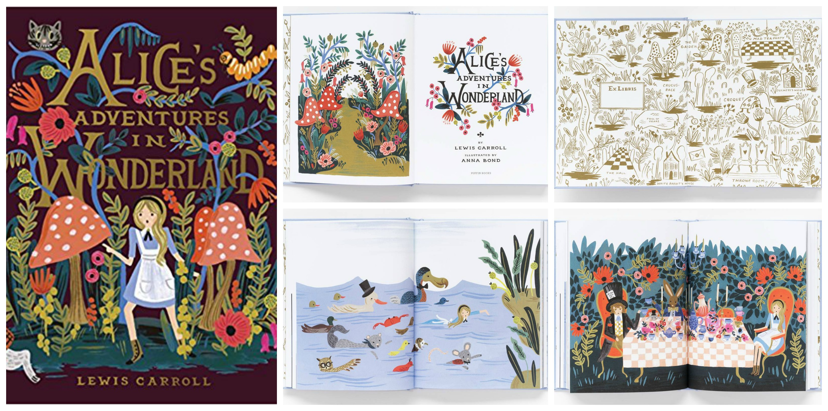 Alice's Adventures in Wonderland illustrated by Anna Bond
