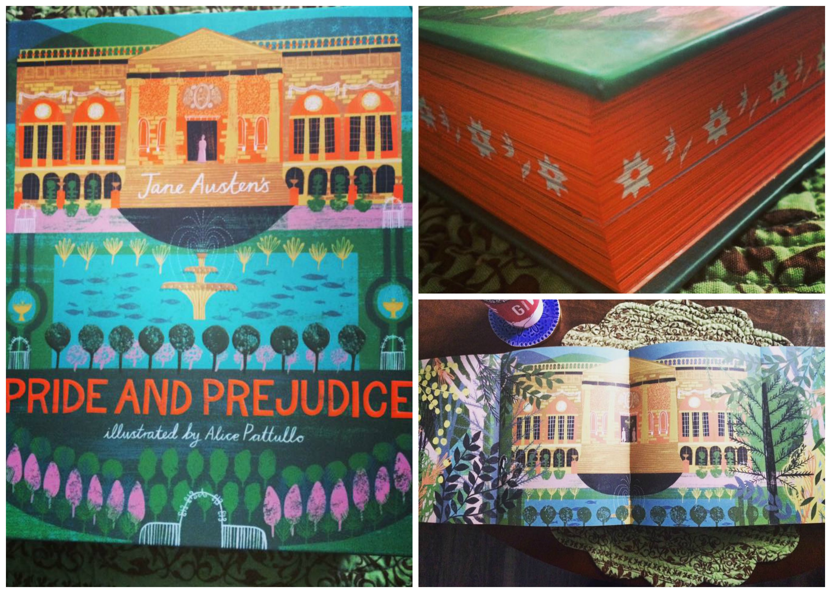 Classics Reimagined Pride and Prejudice illustrated by Alice Pattullo