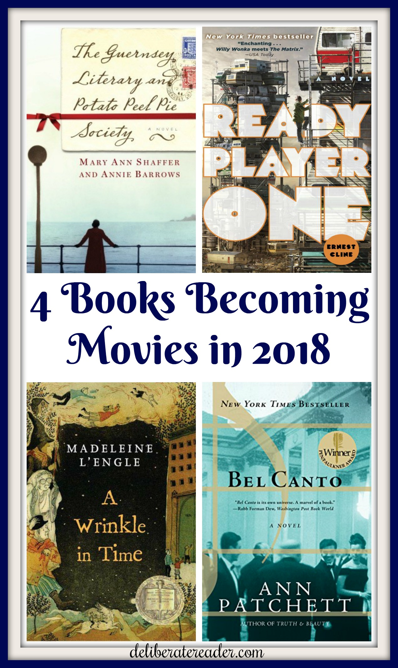 Books Being Turned Into Movies in 2018